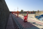 نصب وسایل ورزشی ووسایل بازی کودکان در پارک  ملت محله علیا
